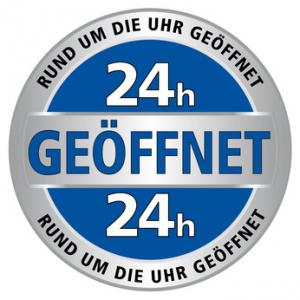 24h Service mit transparentem Hintergrund