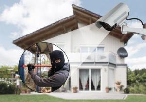 Kamera entdeckt Einbrecher